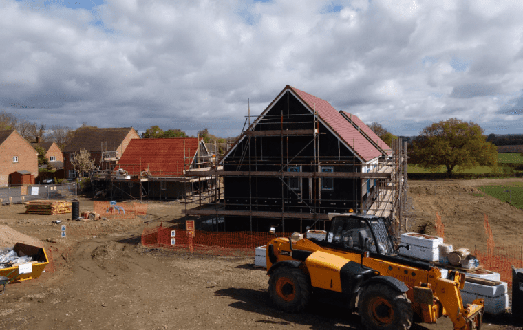 Ground Source Review: Shropshire Rural Housing, Kinlet - Installation 2