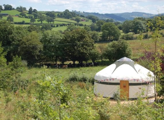 Secret Yurts Glamping Wales