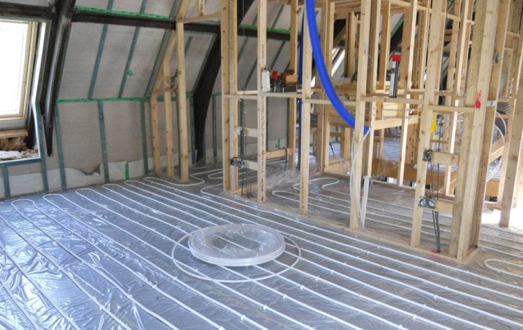 Ground Source Review Converted Church, Felindre Heat Pump - Interior 2