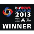 Kensa Ground Source Heat Pumps H&V News Awards Winners 2013